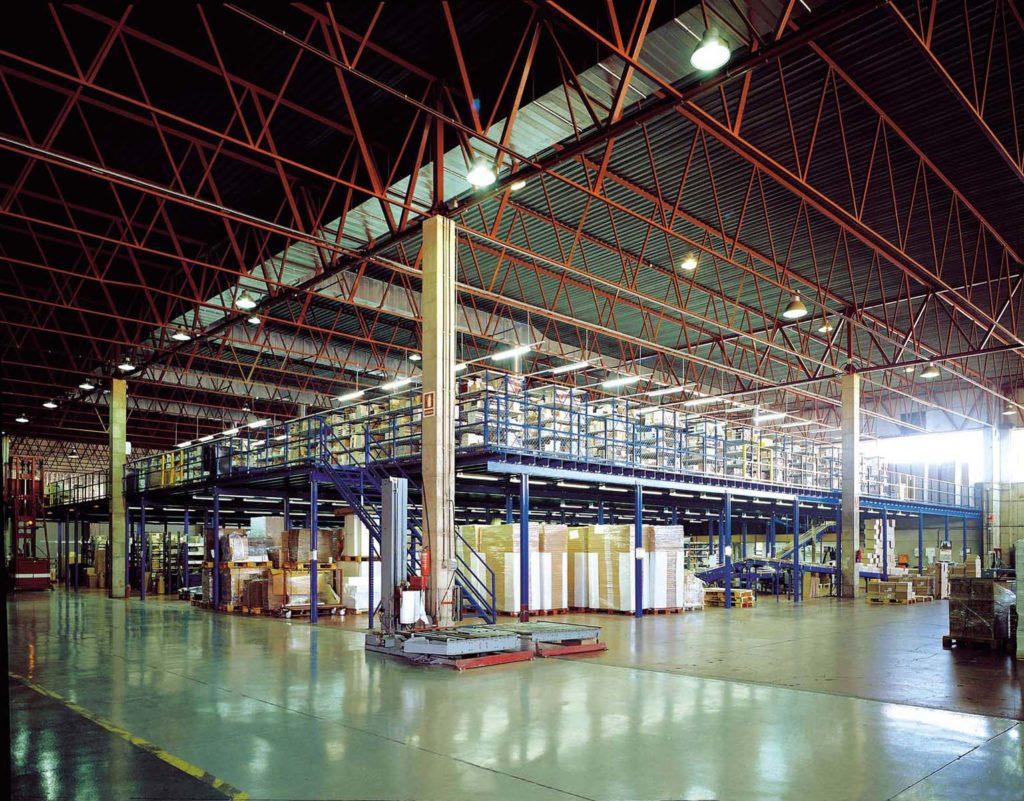 altillos industriales almacen